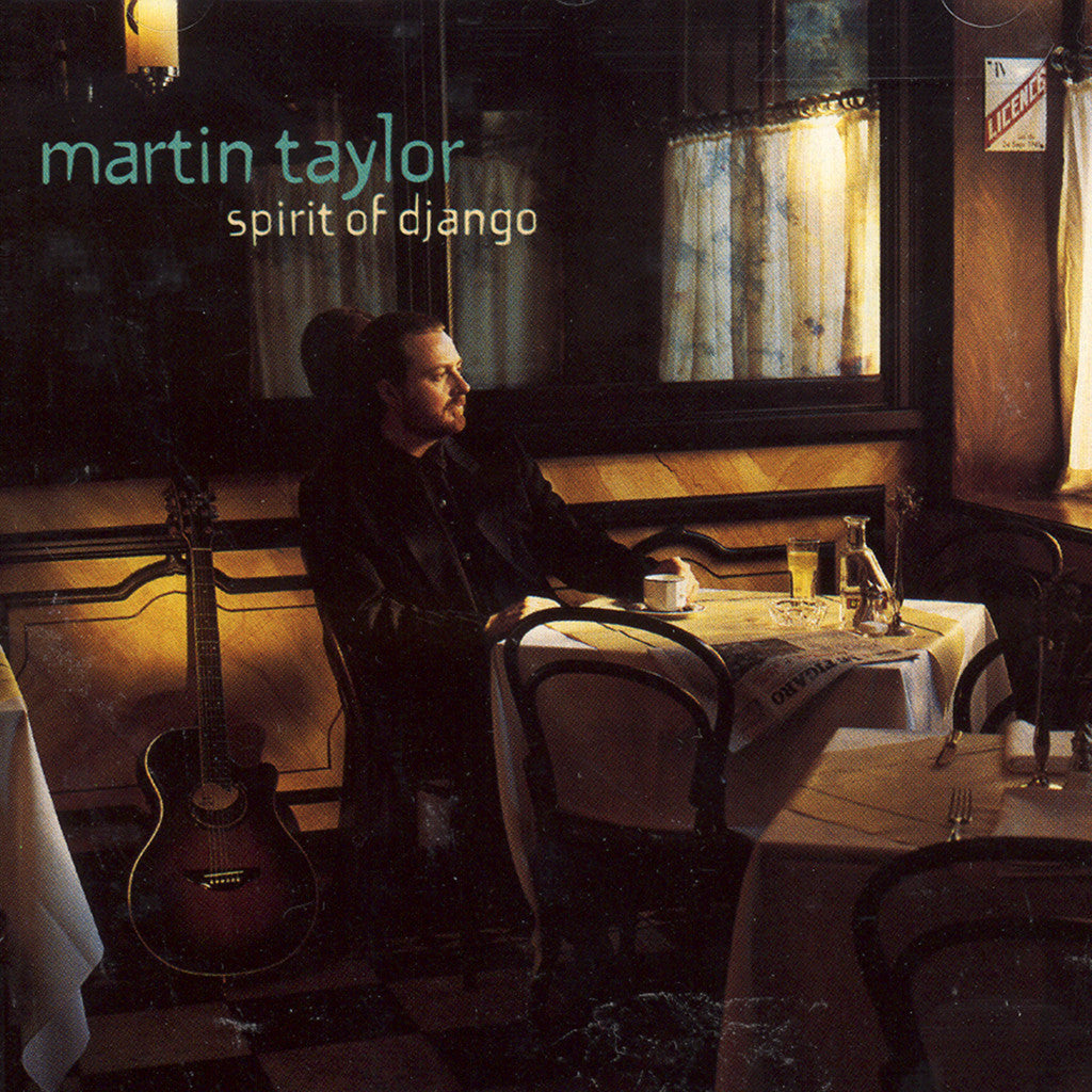 Image of Martin Taylor, Spirit of Django, CD