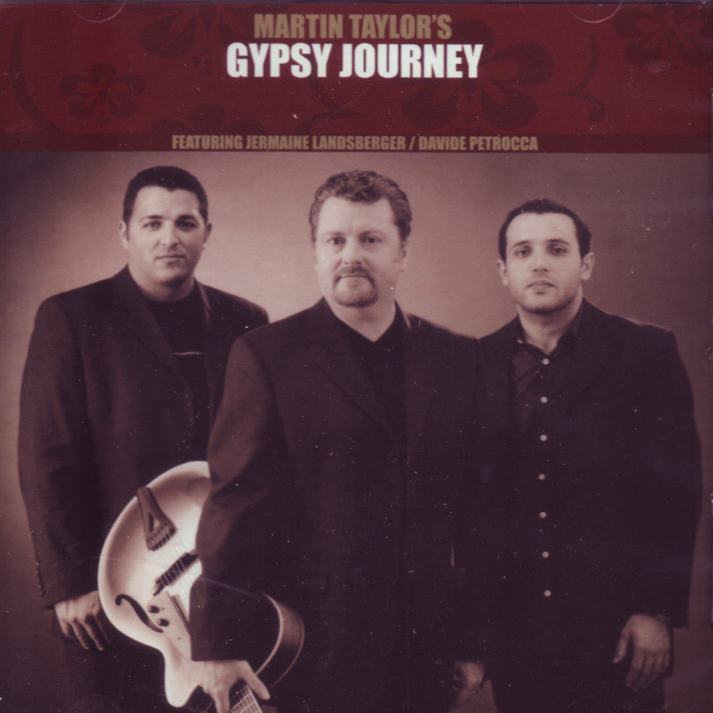 Image of Martin Taylor, Gypsy Journey, CD