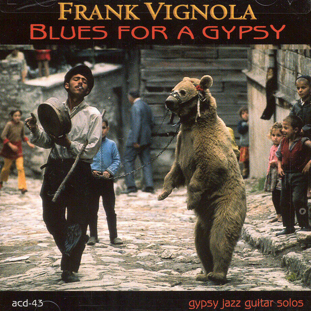 Image of Frank Vignola, Blues for a Gypsy, CD