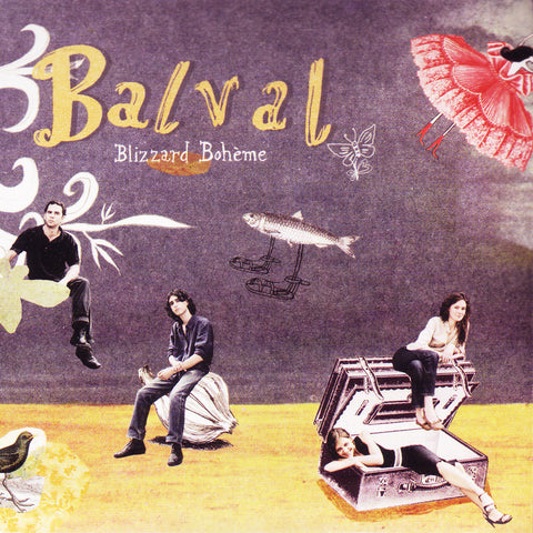 Image of Balval, Blizzard Boheme, CD