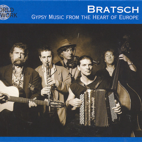 Image of Bratsch, Gypsy Music from the Heart of Europe, CD