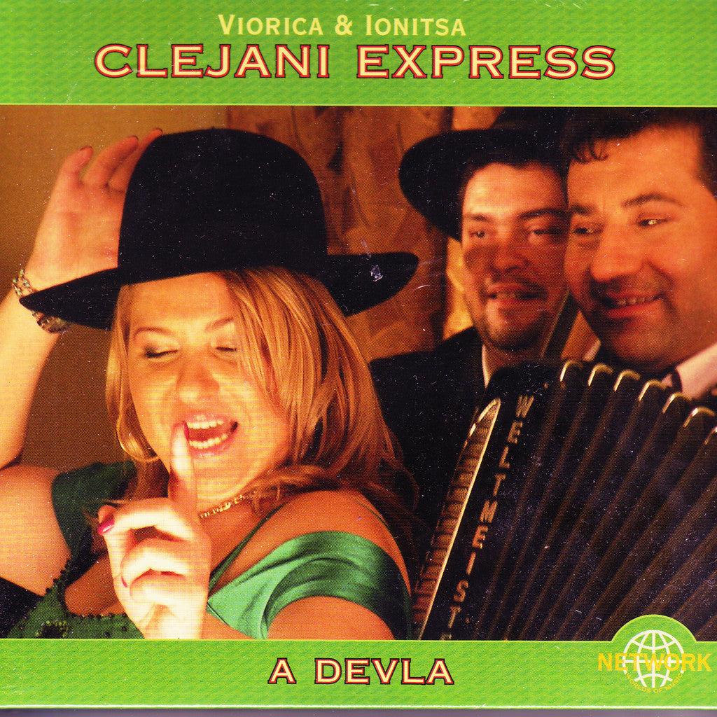 Image of Clejani Express, A Devla, CD