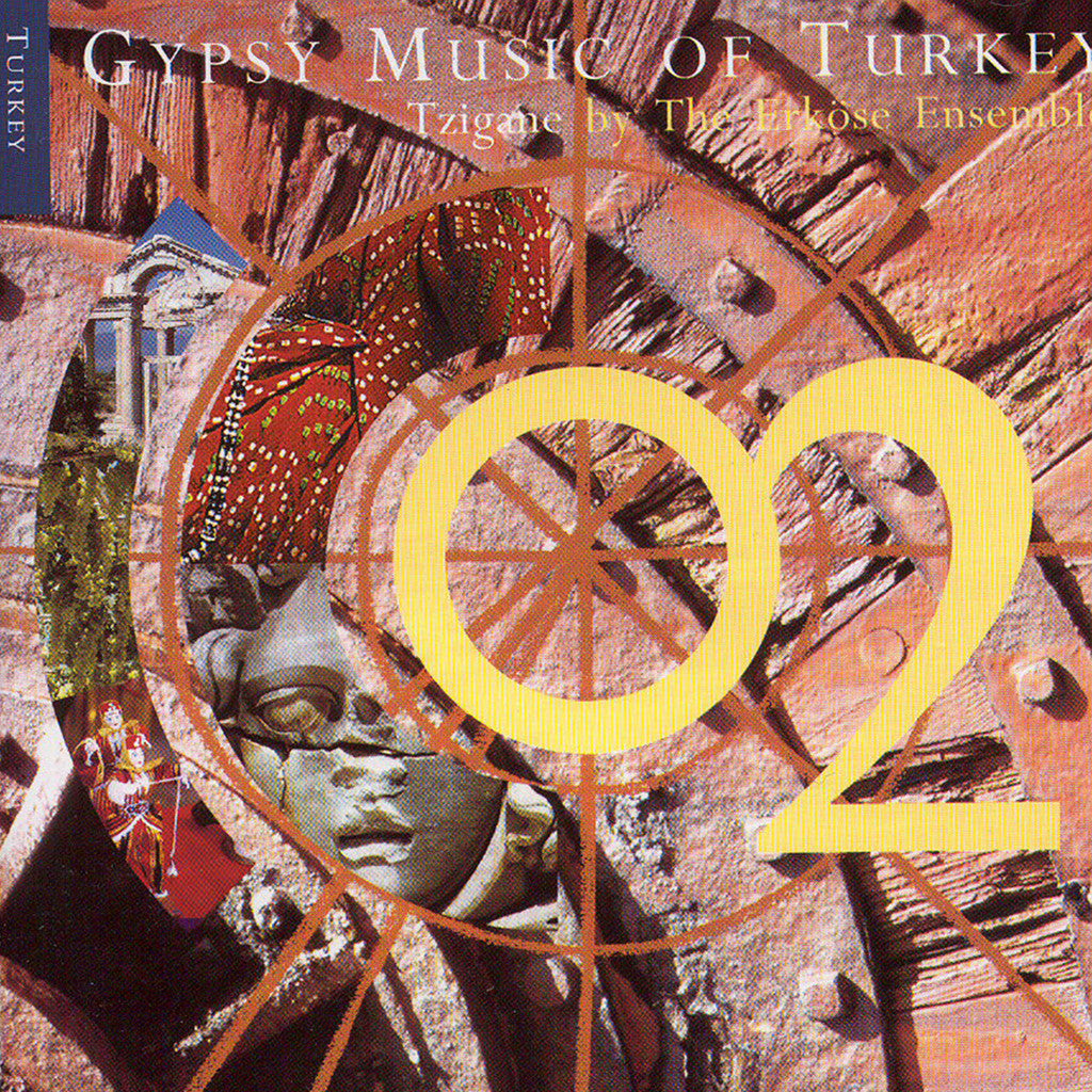 Image of Erköse Ensemble, Gypsy Music of Turkey, CD