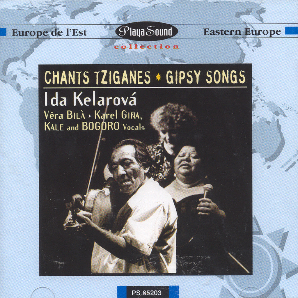 Image of Ida Kelarova, Chants Tziganes, CD