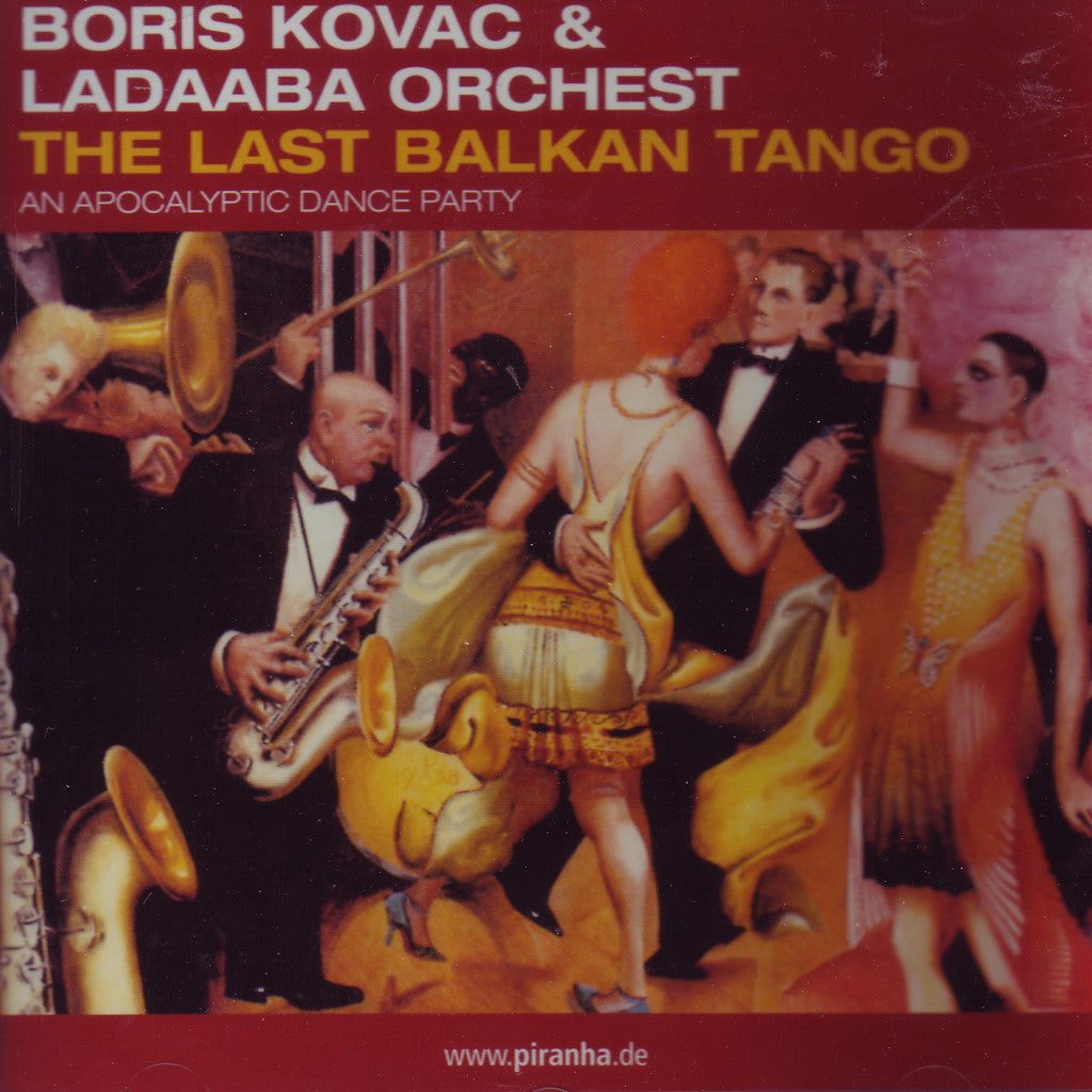 Image of Boris Kovac & Ladaaba Orchest, The Last Balkan Tango, CD