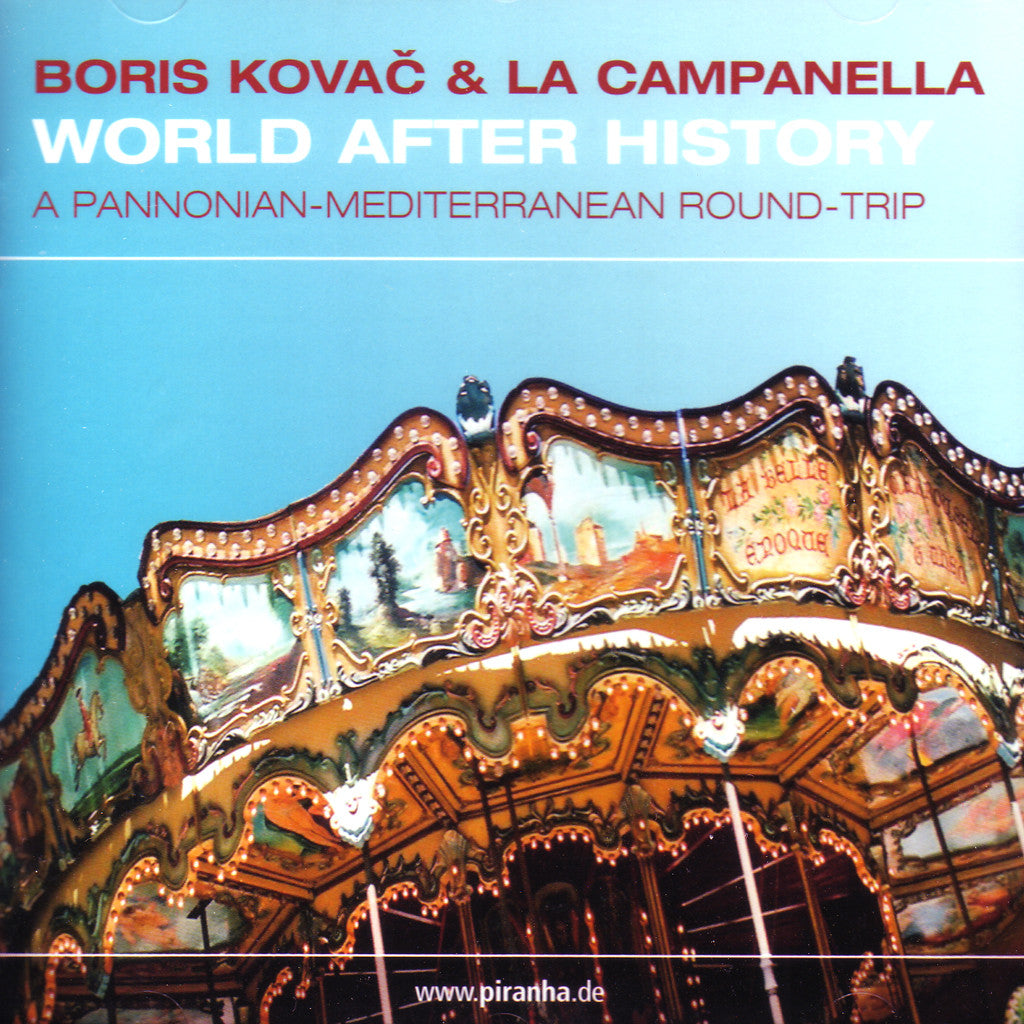 Image of Boris Kovac & La Campanella, World After History, CD