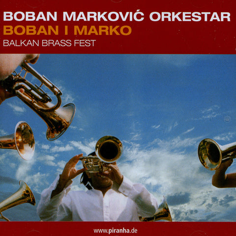 Image of Boban Markovic Orkestar, Boban i Marko, CD
