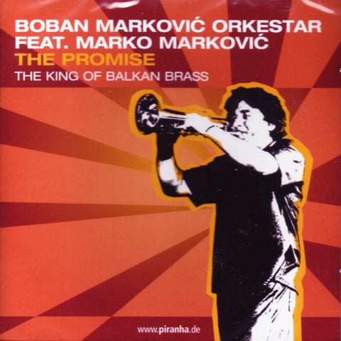 Image of Boban Markovic Orkestar, The Promise, CD