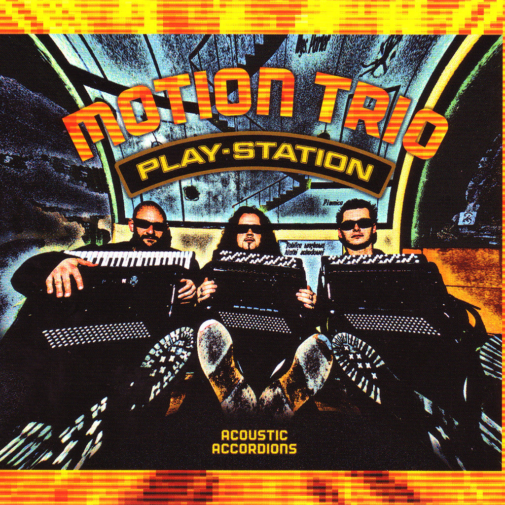 Image of Motion Trio, Play Station, CD