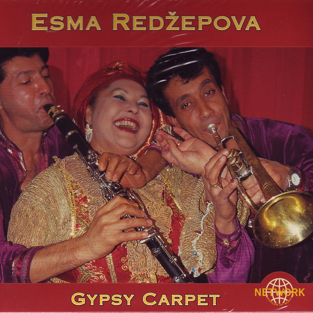 Image of Esma Redzepova, Gypsy Carpet, CD