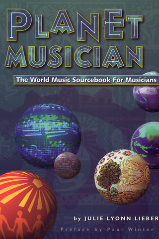 Image of Julie Lyonn Lieberman, Planet Musician, Book & CD