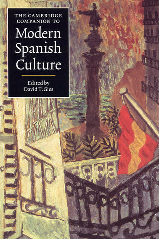 Image of Various Authors, The Cambridge Companion to Modern Spanish Culture, Book