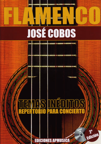 Image of Jose Cobos, Flamenco: Repertorio para Concierto, Music Book