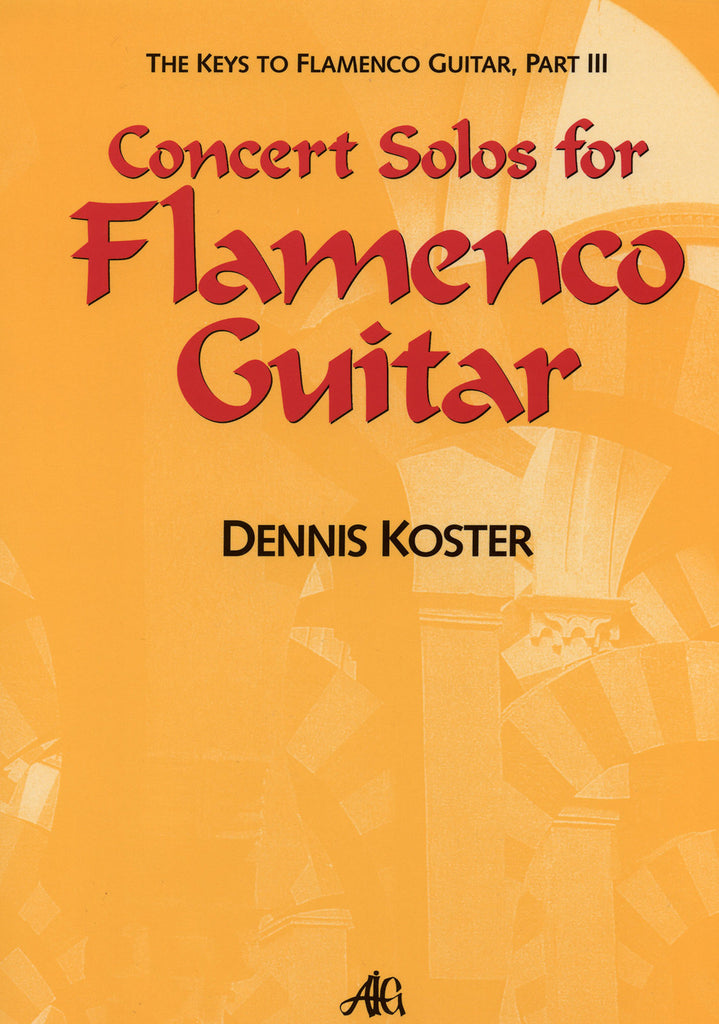 Image of Dennis Koster, Concert Solos for Flamenco Guitar, Music Book & CD