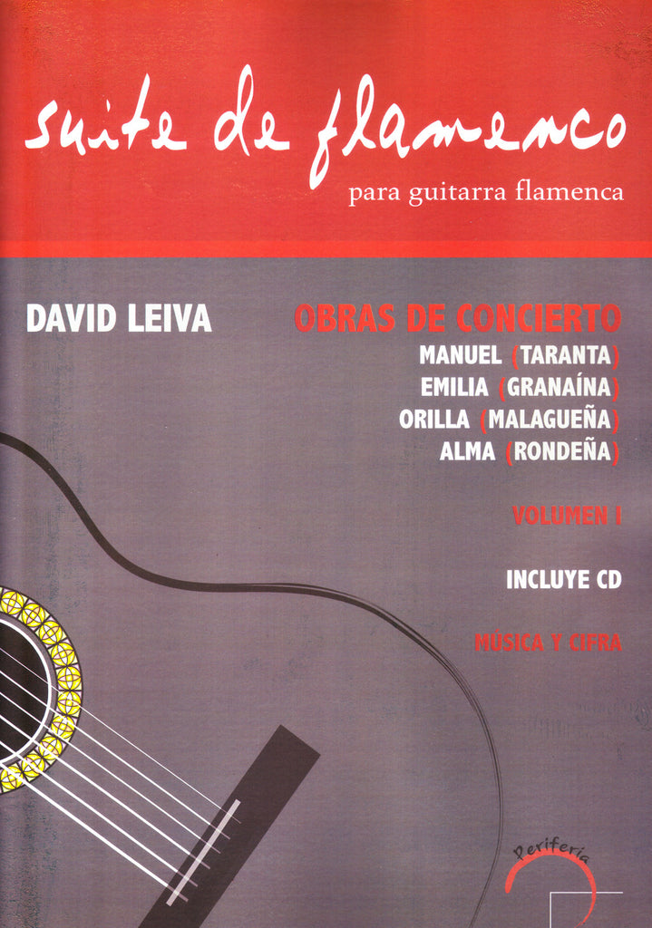 Image of David Leiva, Suite de Flamenco, Music Book & CD