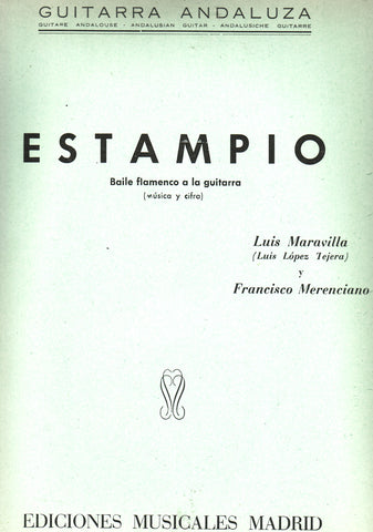 Image of Luis Maravilla, Estampio, Music Book