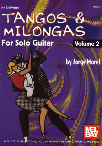 Image of Jorge Morel, Tangos & Milongas for Solo Guitar vol.2, Music Book