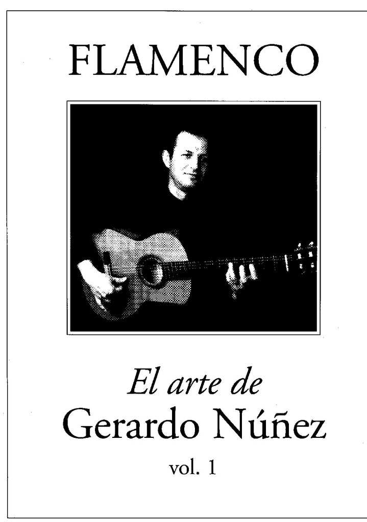 Image of Gerardo Nuñez, Arte Flamenco (transc. Faucher), Music Book