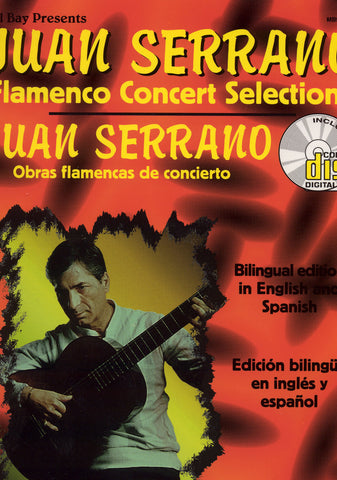 Image of Juan Serrano, Flamenco Concert Selections, Music Book & CD