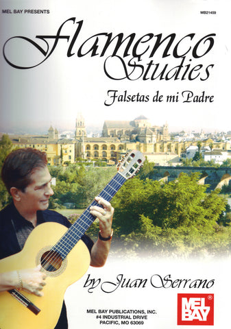 Image of Juan Serrano, Flamenco Studies: Falsetas de Mi Padre, Music Book