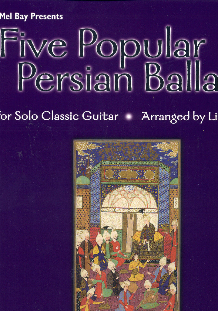 Image of Lily Afshar, Five Popular Persian Ballads, Music Book