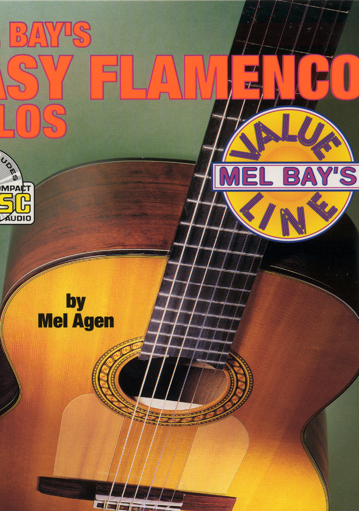 Image of Mel Agen, Easy Flamenco Solos, Music Book & CD