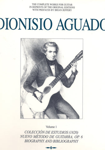 Image of Dionisio Aguado, Complete Works vol.1, Music Book