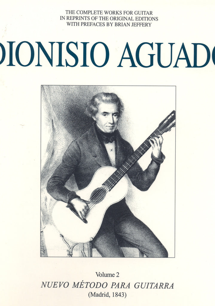Image of Dionisio Aguado, Complete Works vol.2, Music Book