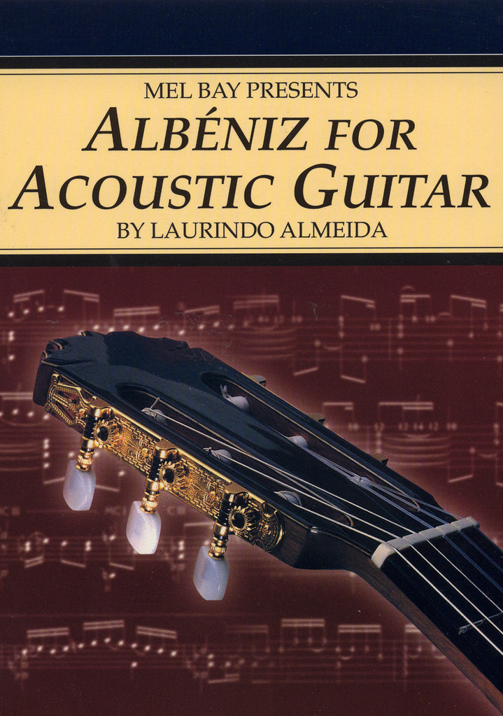 Image of Isaac Albeniz, Albeniz for Acoustic Guitar, Music Book