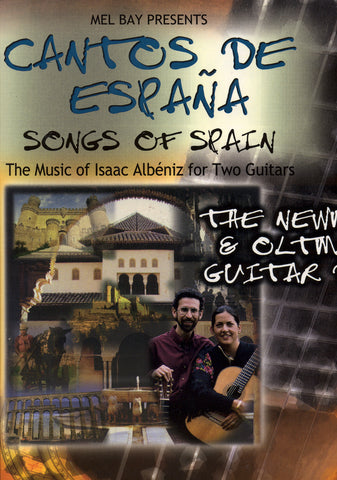 Image of Isaac Albeniz, Cantos de España: Songs of Spain (for two guitars), Music Book