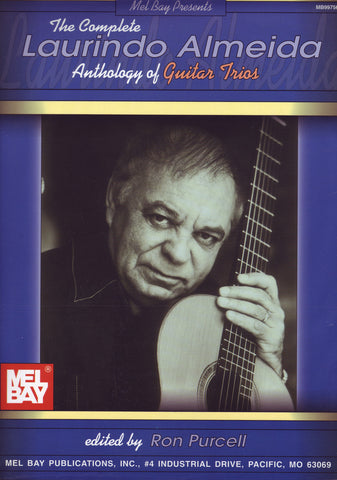 Image of Laurindo Almeida, Anthology of Guitar Trios, Music Book