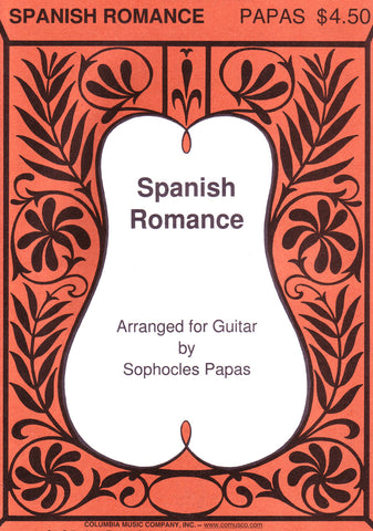 Image of Anonymous, Spanish Romance (ed. Papas), Printed Music