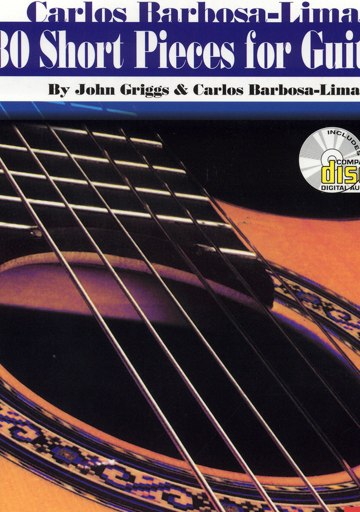 Image of Carlos Barbosa-Lima (ed.), 30 Short Pieces for Guitar, Music Book & CD