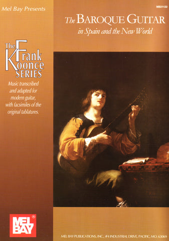 Image of Frank Koonce (ed.), The Baroque Guitar in Spain and the New World, Music Book