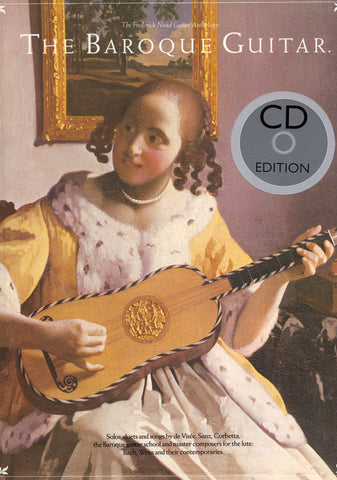 Image of Frederick Noad (ed.), The Baroque Guitar, Music Book & CD