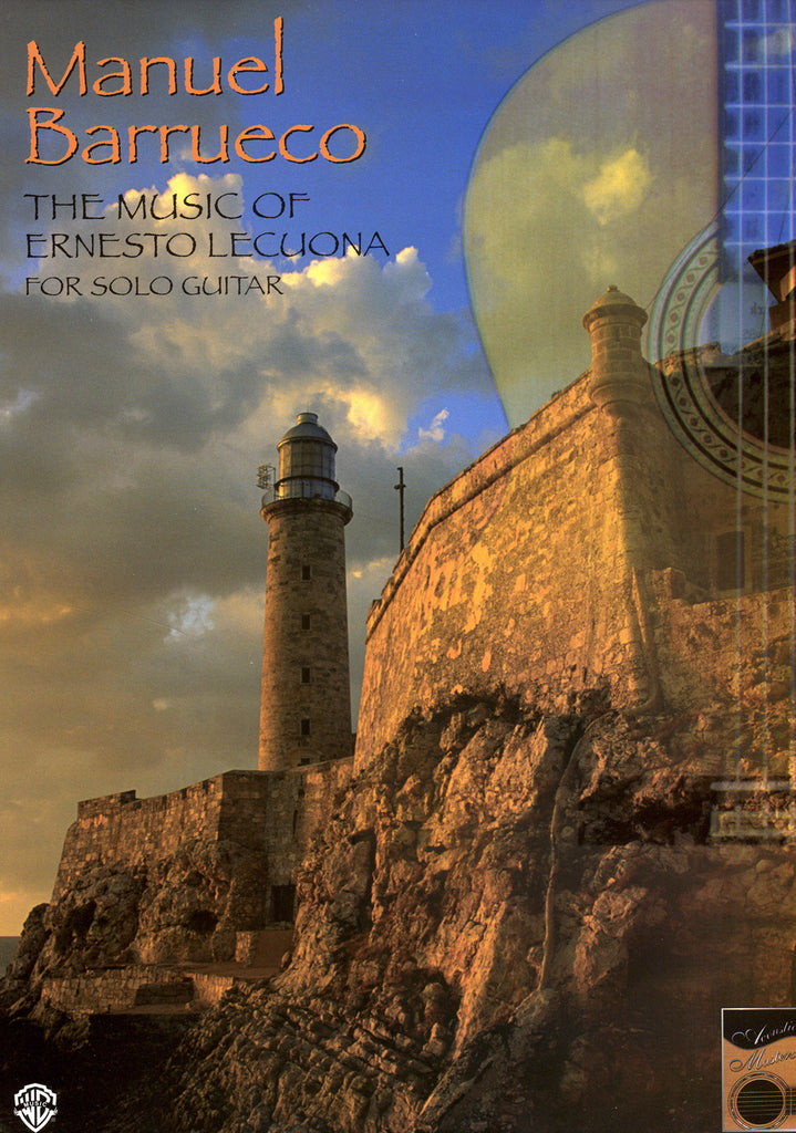 Image of Ernesto Lecuona, The Music of Ernesto Lecuona for Solo Guitar, Music Book