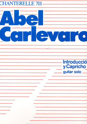 Image of Abel Carlevaro, Introduccion y Capricho, Music Book