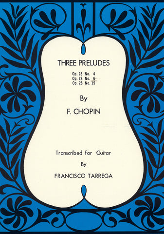 Image of Frederic Chopin, Three Preludes, Printed Music