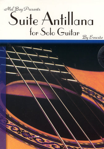 Image of Ernesto Cordero, Suite Antillana, Music Book & CD