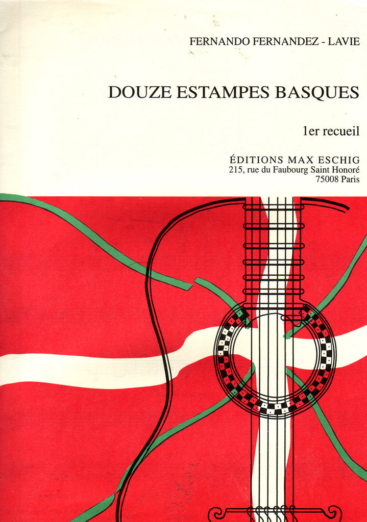 Image of Fernando Fernandez-Lavie, Douze Estampes Basques - 2eme recueil, Printed Music