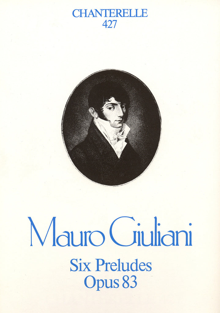 Image of Mauro Giuliani, Six Preludes, Music Book
