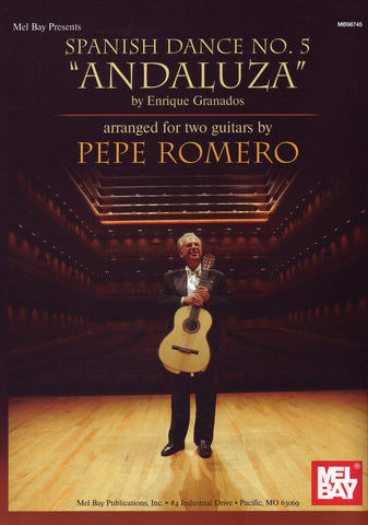 Image of Enrique Granados, Andaluza: Spanish Dance #5 (for two guitars)(arr. Pepe Romero), Printed Music