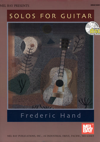 Image of Frederic Hand, Solos for Guitar, Music Book & CD