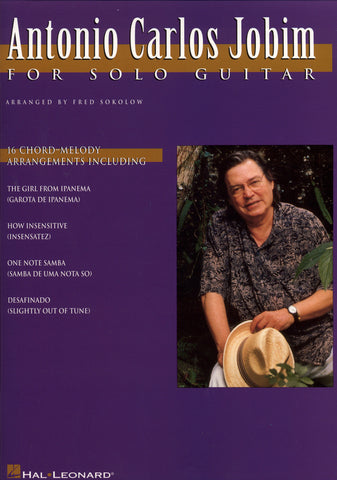 Image of Antonio Carlos Jobim, Antonio Carlos Jobim for Solo Guitar, Music Book