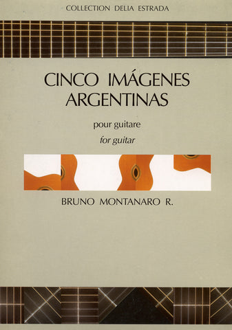Image of Bruno Montanaro, Cinco Imagenes Argentinas, Music Book
