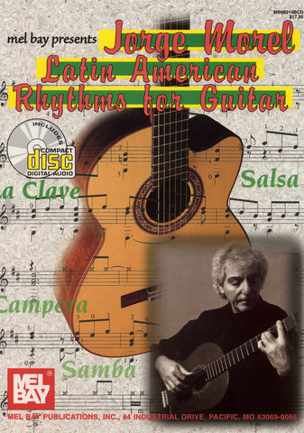 Image of Jorge Morel, Latin American Rhythms for Guitar, Music Book & CD