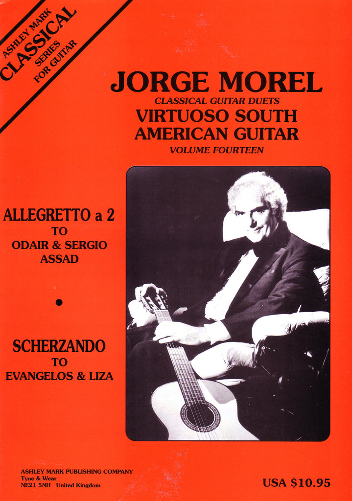 Image of Jorge Morel, Virtuoso South American Guitar Duets vol.14, Music Book