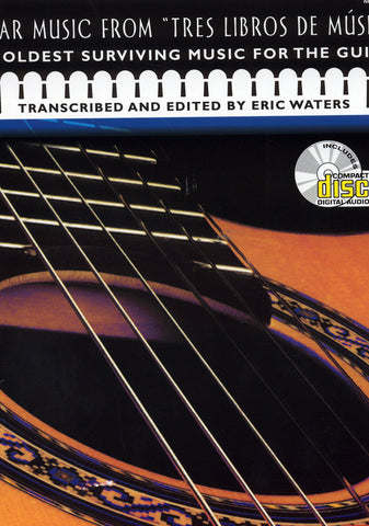 "Image of Alonso de Mudarra, Guitar Music from ""Tres Libros de Musica"", Music Book & CD"
