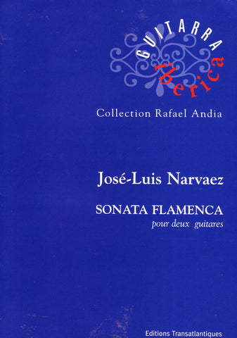 Image of Jose Luis de Narvaez, Sonata Flamenca (for two guitars), Music Book