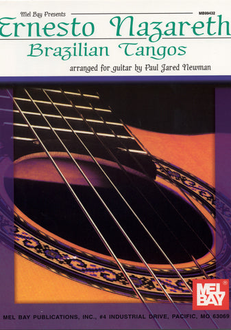 Image of Ernesto Nazareth, Brazilian Tangos, Music Book